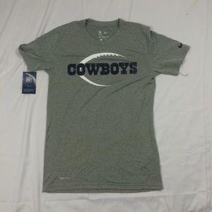 $30 Mens S Dallas Cowboys Nike T Shirt Football NF